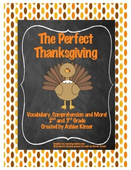 """""""The Perfect Thanksgiving""""  Spinelli - Comprehension, Math"""