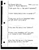 """""""The Phantom Tollbooth"""" Ch. 1-5 Reading Comprehension Guides"""