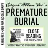 """The Premature Burial"" by Edgar Allan Poe - Guided Reading with Text"