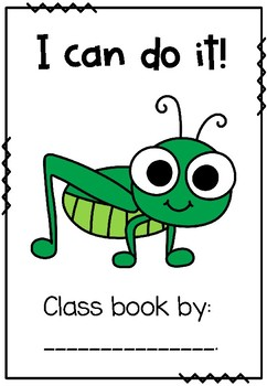 'The Quiet Cricket' Class Book.