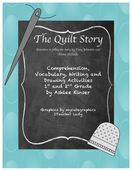 """""""The Quilt Story"""" by Tomie DePaola - Vocabulary, Comprehension and More"""