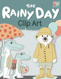 """""""The Rainy Day"""" Clip Art  – Commercial-Use"""