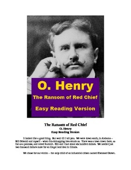 """""""The Ransom of Red Chief"""" Mp3 and Easy Reading Text"""
