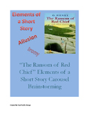 """""""The Ransom of Red Chief"""" Short Story Elements Carousel Br"""