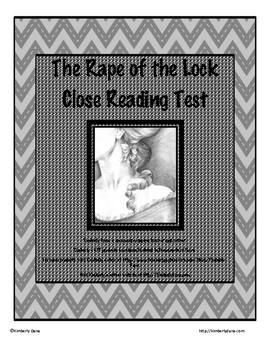 """The Rape of the Lock"" Test"