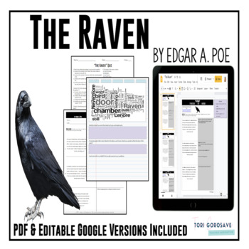 """Poetry Lesson: """"The Raven"""" by Edgar A. Poe {Google Digital"""