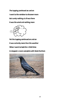 'The Raven' by Edgar Allen Poe- Modified
