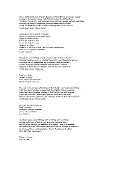 """The Raven"" poem"