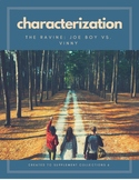 """The Ravine"" Characterization Activity - Character Analysis and Clozed Notes"