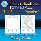 """The Reading Promise"" Word Search Game"