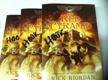 """The Red Pyramid"" books, by Rick Riordan - Literature Circle Set"