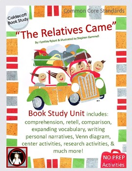 """""""The Relatives Came"""" Book Unit"""