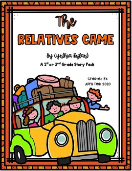 """""""The Relatives Came"""" by Cynthia Rylant Story Pack"""