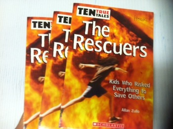 """The Rescuers"" books, by Allan Zullo - Literature Circle Set"