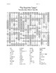"""""""The Road Not Taken"""" Vocabulary Word Search"""