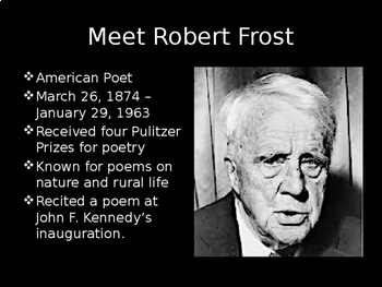 """The Road Not Taken"" by Robert Frost Bundle"