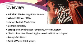 """The Rocking-Horse Winner"" by D.H. Lawrence"