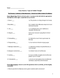 The Romany: Centuries of Discrimination – Comprehension Worksheet