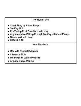 the ruum short story