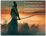"""""""Samurai and Bushido"""" + Power Point, Activities, Assessments (Distance Learning)"""