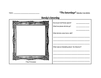 """The Saturdays"" Literary Unit & Quiz (Grades 2 - 5)"