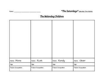 """The Saturdays"" Literary Unit & Quiz (Grades 2 - 5)"