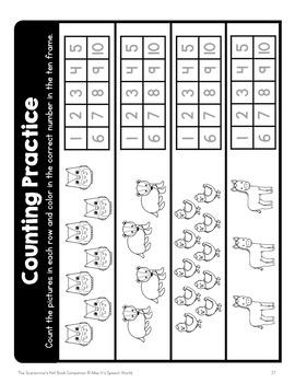 """The Scarecrow's Hat"" Book Companion for Pre-K, Kindergarten, SDC"
