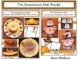 """""""The Scarecrow's Hat"""" Sequencing & Retelling a Story Craft BUNDLE"""