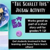 """The Scarlet Ibis"" Jigsaw Activity"