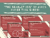 """""""The Scarlet Ibis"""" Post Questions/Task Cards"""