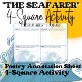 """The Seafarer"" 4 Square Activity"
