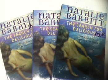 """""""The Search for Delicious"""" books, by Natalie Babbitt - Lit"""