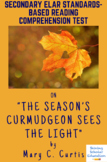 """""""The Season's Curmudgeon Sees the Light"""" by Mary C. Curtis Reading Test"""