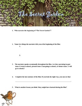 """The Secret Garden"" Movie Guide"