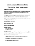 """""""The Shot for Glory"""" Poetry Analysis & Narrative Essay"""