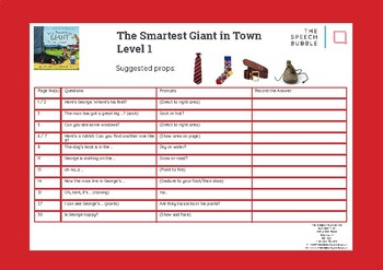 'The Smartest Giant in Town' Abstract Language (Blank Level) Questions