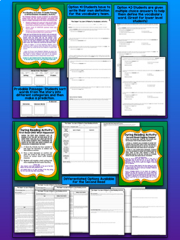 """""""The Sniper"""" Bundle- Close Reading & Narrative Writing Unit with Task Cards"""