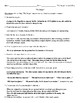 """""""The Sniper"""" Review Worksheet (or Test) and Comprehensive Answer Key"""