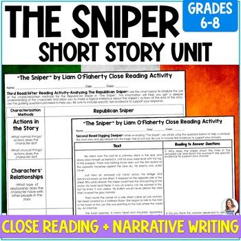 The sniper essay
