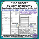 """""""The Sniper"""" by Liam O'Flaherty Short Story Unit and Narrative Writing Task"""