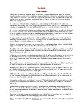 """""""The Sniper"""" formatted for 2 pages"""