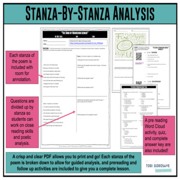 "Poetry Lesson: ""The Song of Wandering Aengus"" by Yeats {Google Digital Resource}"