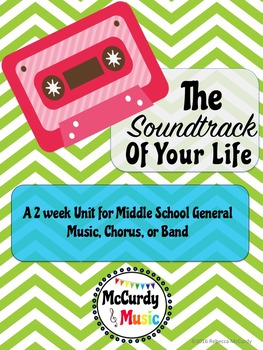 """The Soundtrack of Your Life"": a week long unit for General Music"