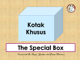 'The Special Box' Indonesian Flap Book