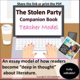 The Stolen Party Companion Book Model