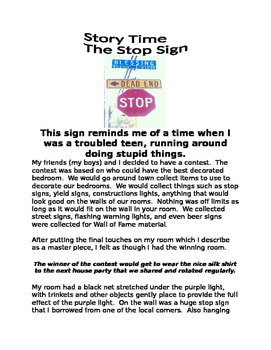 """The Stop Sign""...""I'm not a Statistic""...Message for the Struggling Student..."