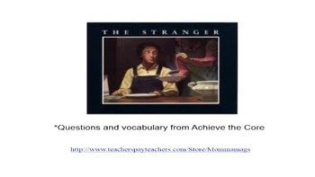 """The Stranger"" by Chris Van Allsburg"