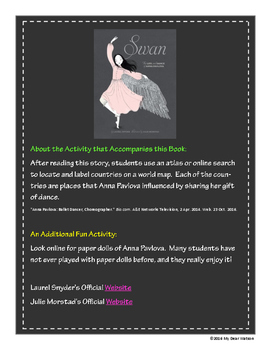 """""""The Swan"""" - GA Picture Book Award Nominee 2016-2107"""