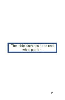 'The Table' Volume 3 PreReader Book