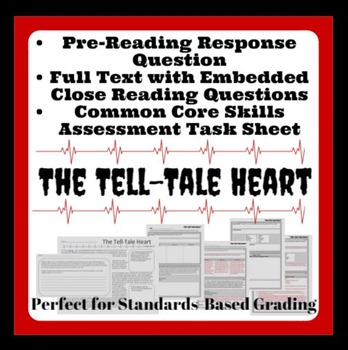 Tell-Tale Heart: Common Core Aligned